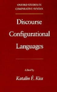 Ebook in inglese Discourse Configurational Languages -, -