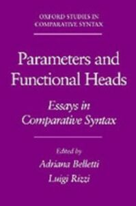 Ebook in inglese Parameters and Functional Heads: Essays in Comparative Syntax -, -