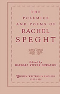 Ebook in inglese Polemics and Poems of Rachel Speght Speght, Rachel