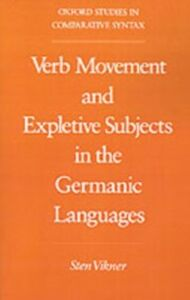 Ebook in inglese Verb Movement and Expletive Subjects in the Germanic Languages Vikner, Sten