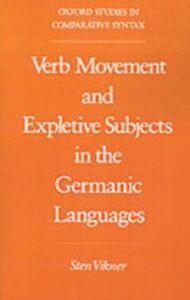Foto Cover di Verb Movement and Expletive Subjects in the Germanic Languages, Ebook inglese di Sten Vikner, edito da Oxford University Press