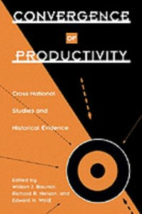 Ebook in inglese Convergence of Productivity: Cross-National Studies and Historical Evidence -, -