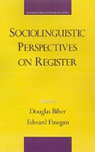 Ebook in inglese Sociolinguistic Perspectives on Register -, -