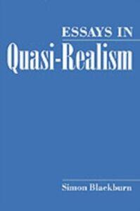 Foto Cover di Essays in Quasi-Realism, Ebook inglese di Simon Blackburn, edito da Oxford University Press