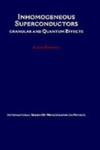 Ebook in inglese Inhomogeneous Superconductors: Granular and Quantum Effects Simanek, Eugen