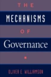 Mechanisms of Governance