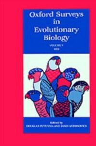 Ebook in inglese Oxford Surveys in Evolutionary Biology: Volume 8: 1991