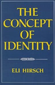 Ebook in inglese Concept of Identity Hirsch, Eli