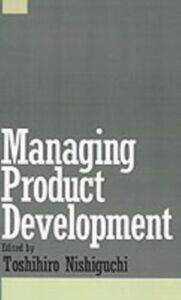 Ebook in inglese Managing Product Development -, -