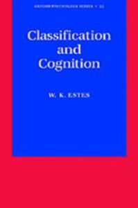 Ebook in inglese Classification and Cognition Estes, William K.