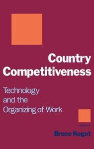 Foto Cover di Country Competitiveness: Technology and the Organizing of Work, Ebook inglese di  edito da Oxford University Press
