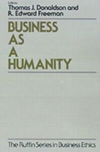 Ebook in inglese Business As a Humanity -, -