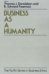 Business As a Humanity