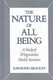 Nature of All Being: A Study of Wittgenstein's Modal Atomism