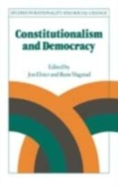 Constitutionalism and Democracy: Transitions in the Contemporary World