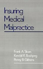 Insuring Medical Malpractice