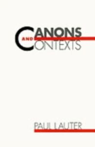 Foto Cover di Canons and Contexts, Ebook inglese di Paul Lauter, edito da Oxford University Press
