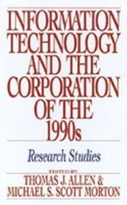 Foto Cover di Information Technology and the Corporation of the 1990s: Research Studies, Ebook inglese di  edito da Oxford University Press