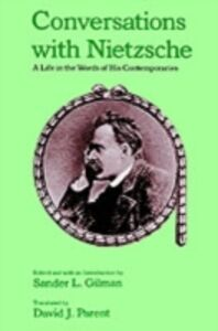 Ebook in inglese Conversations with Nietzsche: A Life in the Words of His Contemporaries -, -