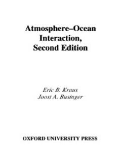 Ebook in inglese Atmosphere-Ocean Interaction Businger, Joost A. , Kraus, Eric B.