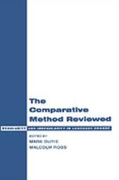 Comparative Method Reviewed: Regularity and Irregularity in Language Change