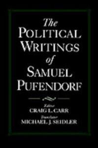 Ebook in inglese Political Writings of Samuel Pufendorf Pufendorf, Samuel