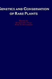 Ebook in inglese Genetics and Conservation of Rare Plants -, -