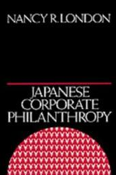 Japanese Corporate Philanthropy