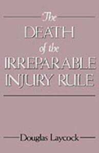 Ebook in inglese Death of the Irreparable Injury Rule Laycock, Douglas