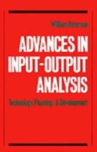 Ebook in inglese Advances in Input-Output Analysis: Technology, Planning, and Development
