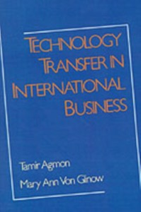 Ebook in inglese Technology Transfer in International Business -, -
