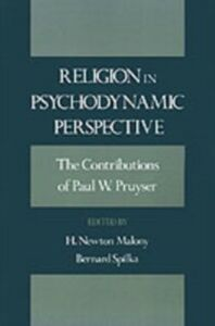Ebook in inglese Religion in Psychodynamic Perspective: The Contributions of Paul W. Pruyser Pruyser, P. W.