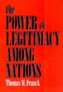 Ebook in inglese Power of Legitimacy among Nations Franck, Thomas M.
