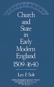 Ebook in inglese Church and State in Early Modern England, 1509-1640 Solt, Leo F.