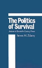 Politics of Survival: Artisans in Twentieth-Century France