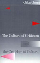 Culture of Criticism and the Criticism of Culture