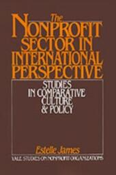 Nonprofit Sector in International Perspective: Studies in Comparative Culture and Policy