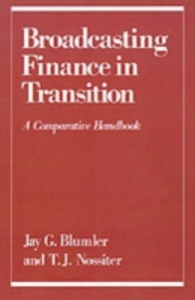 Ebook in inglese Broadcasting Finance in Transition: A Comparative Handbook -, -