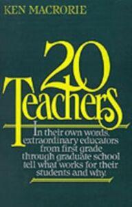 Foto Cover di Twenty Teachers, Ebook inglese di MACRORIE KEN, edito da Oxford University Press