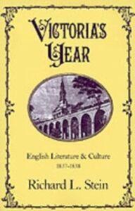 Foto Cover di Victoria's Year: English Literature and Culture, 1837-1838, Ebook inglese di Richard L. Stein, edito da Oxford University Press