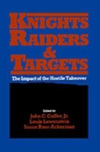 Ebook in inglese Knights, Raiders, and Targets Coffee, John C. , Lowenstein, Louis , Rose-Ackerman, Susan