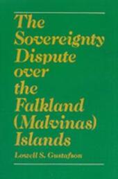 Sovereignty Dispute Over the Falkland (Malvinas) Islands