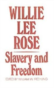 Ebook in inglese Slavery and Freedom LEE, ROSE WILLIE