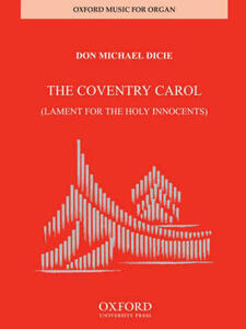 Coventry Carol: Lament for the Holy Innocents - cover