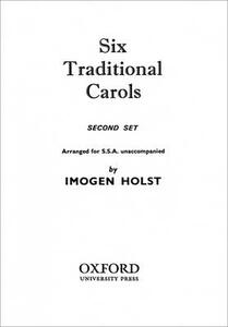 Six Traditional Carols (Second Set) - cover