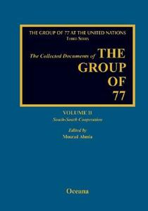 Collected Documents of the G77 South-South Volume 2 - Mourad Ahmia - cover