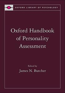 Oxford Handbook of Personality Assessment - cover