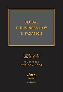 Global E-Business Law & Taxation - cover