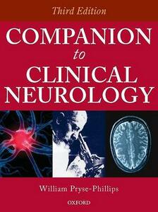 Companion to Clinical Neurology - Pryce-Phillips MD, FRCP, FRCP(C) - cover