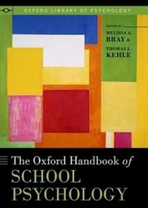 The Oxford Handbook of School Psychology - cover